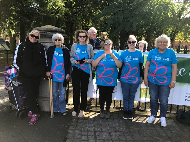 Lynne and Tracey memory walk group