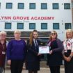 Lynn Grove Academy receive Carer Friendly Tick Award in September 2019