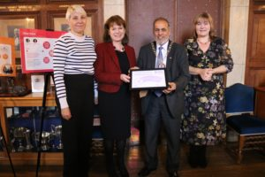 2019 21 11 North West Anglia NHS Foundation Trust received Carer Friendly Tick - Health award