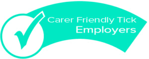 Carer Friendly Tick - employers logo
