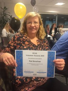 Pat Strachan at PCVS Awards 7 Nov 2019