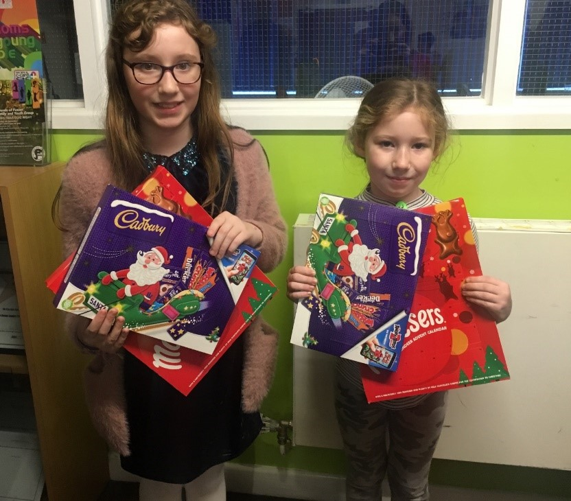 Young carers Chocolate