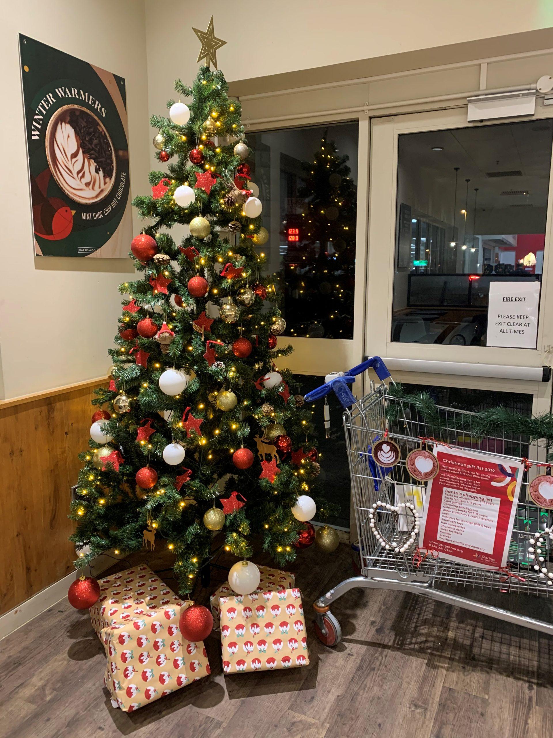 Harris & Hoole Tesco Cafe Giving Tree