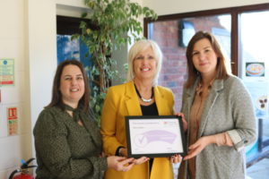 Over and Swavesey Surgeries presented with the Carer Friendly Tick Health