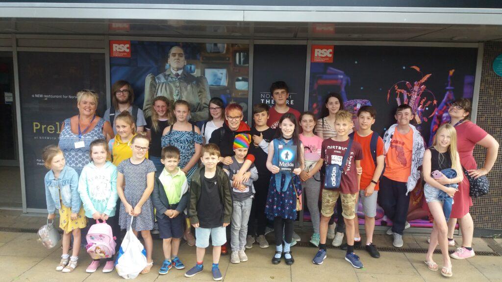 Matilda theatre trip