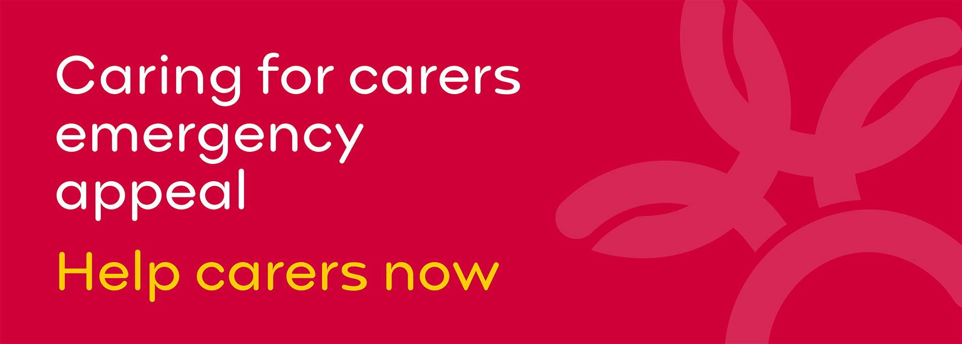 Caring for carers emergency appeal - help carers now