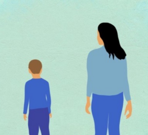 UEA research illustration of young carer
