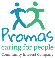 Promas Caring for people logo