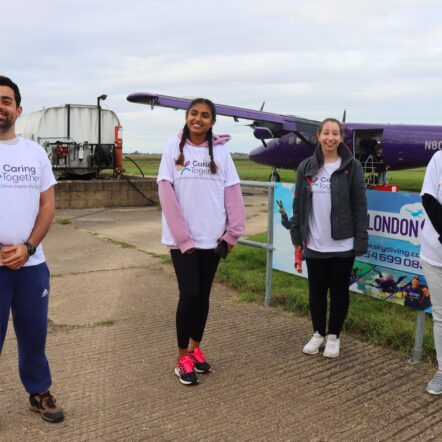 skydiving team