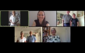 Mindfulness with dementia Zoom session
