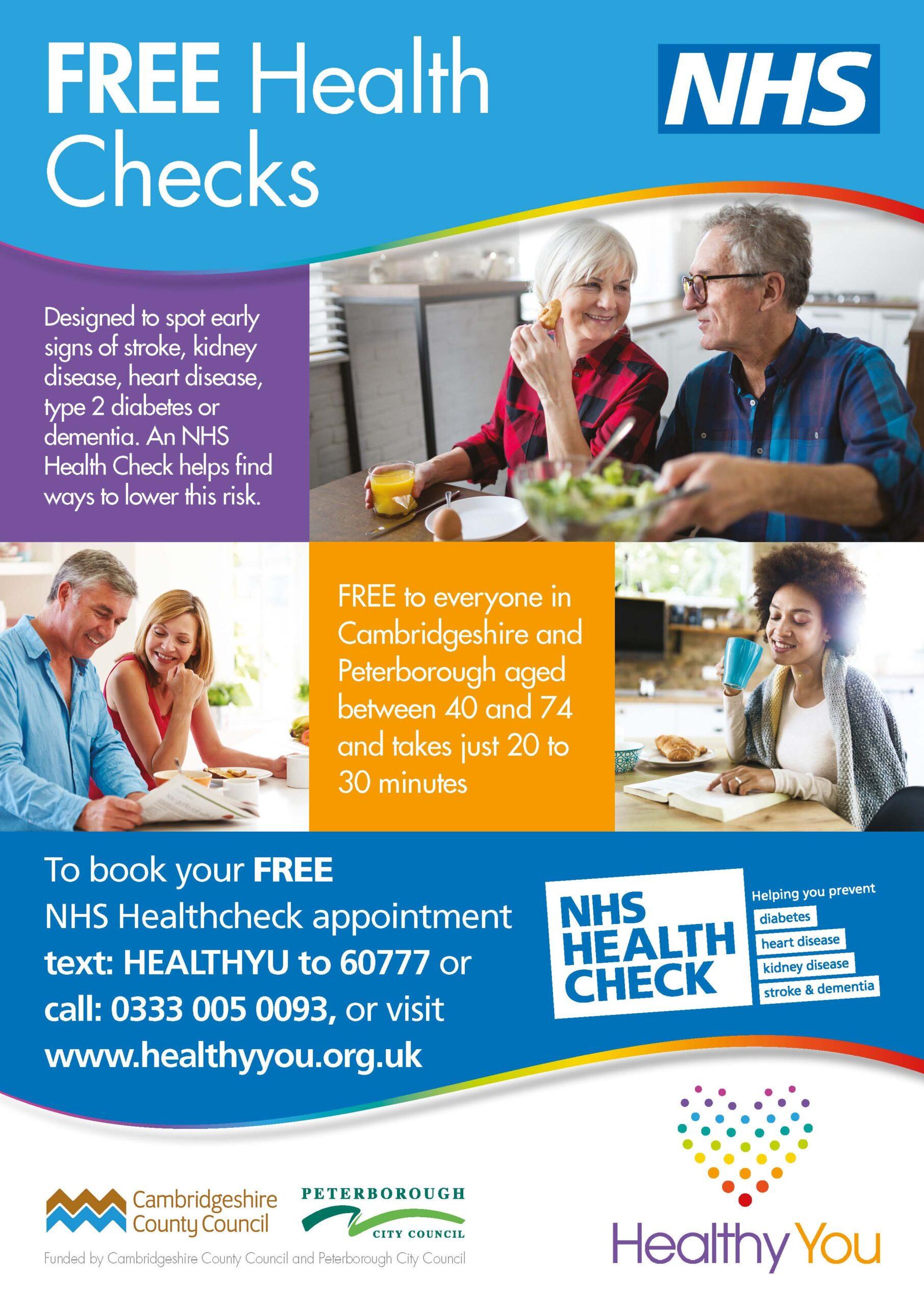 Free health checks