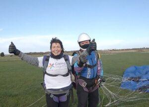 Sharon Macleod skydive