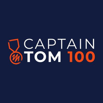 Captain Tom 100 logo