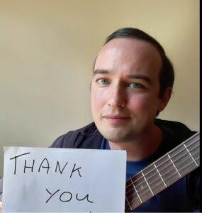 Brendan thank you pic