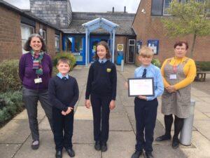 Martham Academy and Nursery receive the Carer Friendly Tick Award - pic 2