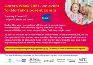 Norfolk Parent Carers Carers Week event2