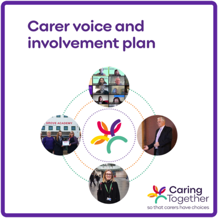 Carer voice and involvement plan logo