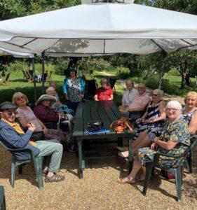 Group pic Girton Arlington Manor