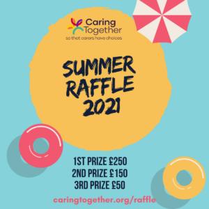 Caring Together Summer raffle 2021 1200x1200