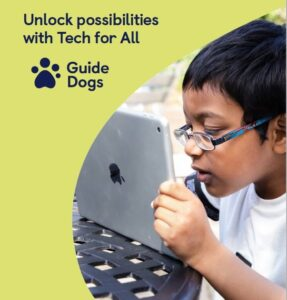 ipads Tech for All from Guide Dogs